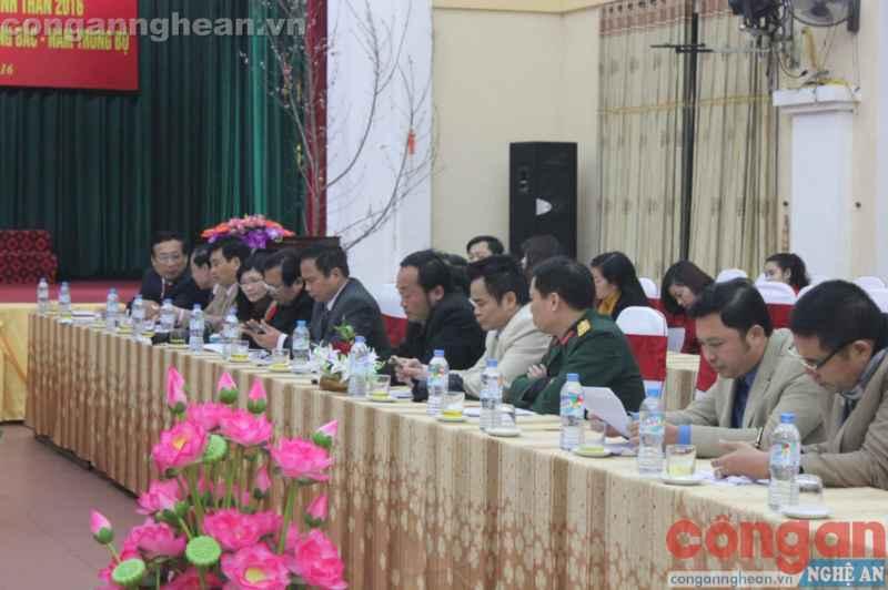 Đại diện các cơ quan báo chí tham dự