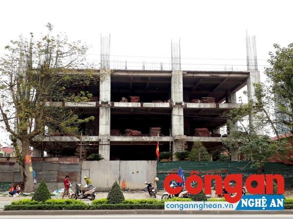 Hiện trạng Dự án Trung tâm thương mại chung cư cao cấp phường Bến Thủy