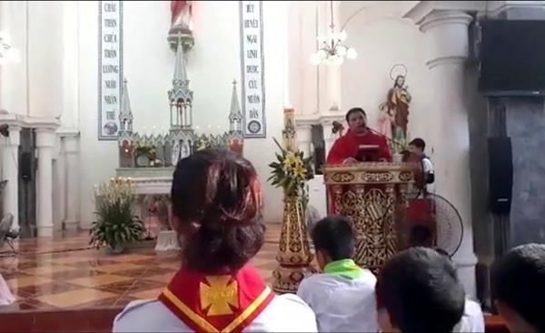 Linh mục Đặng Hữu Nam thường xuyên xuyên tạc, bóp méo sự thật qua các bài giảng tại nhà thờ