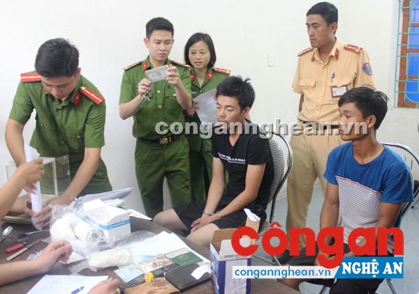 2 đối tượng bị bắt giữ trong Chuyên án