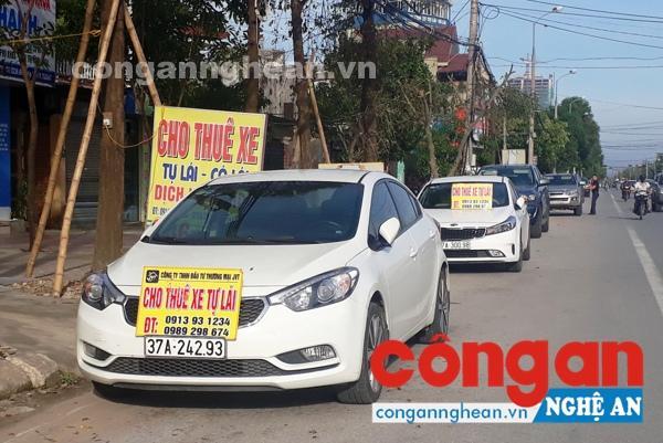 Dịch vụ cho thuê xe ôtô tự lái trở thành mục tiêu của tội phạm trong thời gian gần đây