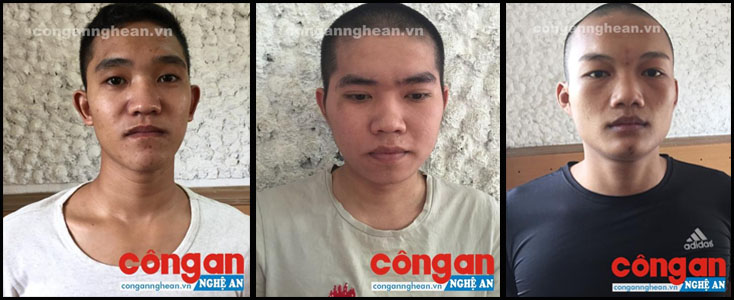 Các đối tượng Phan Văn Cao, Nguyễn Vũ Linh và Nguyễn Chí Tú