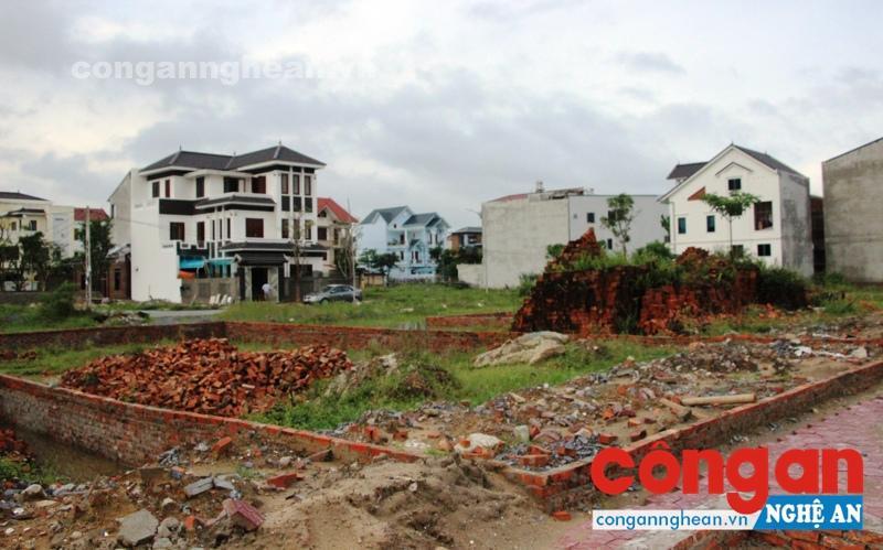 Dự án Minh Khang sau 5 lần điều chỉnh quy hoạch, chủ yếu để phân lô, bán nền