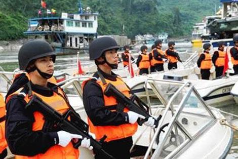 Cảnh sát chống ma túy Trung Quốc trong SMCC