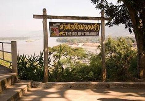 Cửa khẩu Lào tại Tam giác Vàng