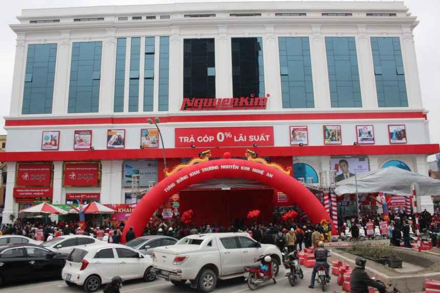 Trung tâm mua sắm Nguyễn Kim tại Nghệ An