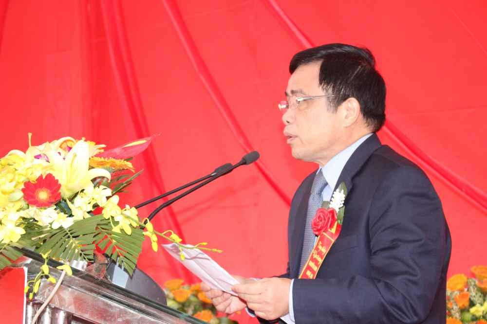 Ông Huỳnh Thanh ĐIền, Phó Chủ tịch UBND tỉnh Nghệ An phát biểu tại lễ khai trương
