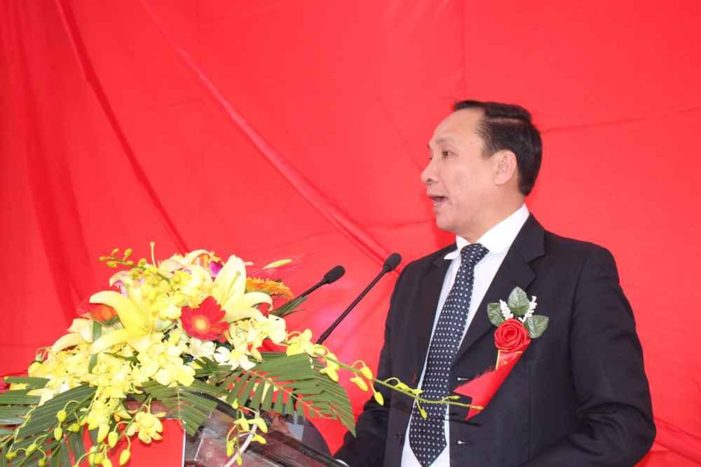 Ông Phạm Trường Giang - Giám đốc Vùng miền Bắc Công ty Nguyễn Kim - phát biểu