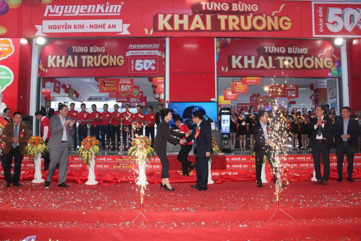 Nguyễn Kim Nghệ An chính thức đi vào hoạt động