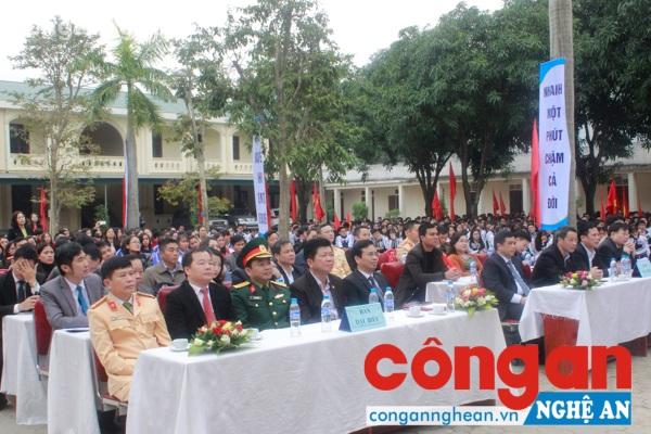 Đại biểu tham dự lễ tổng kết, trao giải