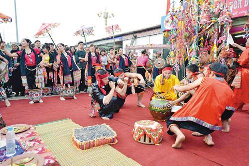 Lễ Xăng Khan - ngày hội tưng bừng của đồng bào dân tộc Thái