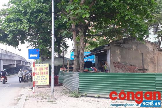 Dự án mở rộng Bệnh viện Đa khoa Thái An vướng mắc bởi ki-ốt chưa được giải tỏa