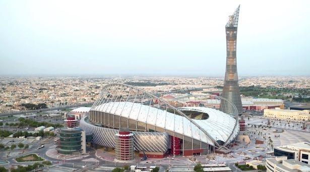 Sân vận động Khalifa của Qatar nơi sẽ diễn ra nhiều trận đấu của World Cup 2022.