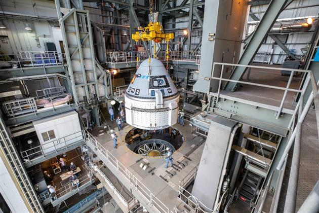 CST-100 Starliner được đưa vào vũ trụ bởi tên lửa đẩy Atlas V. Ảnh: NASA